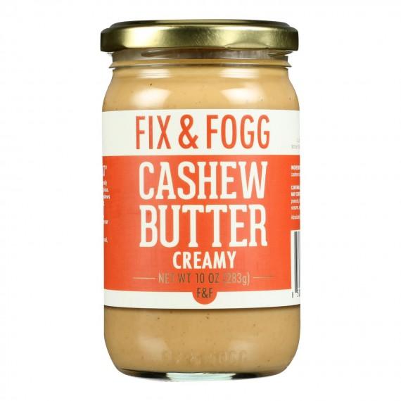 Fix & Fogg - Cashew Butter Creamy - Case Of 6-10 Oz