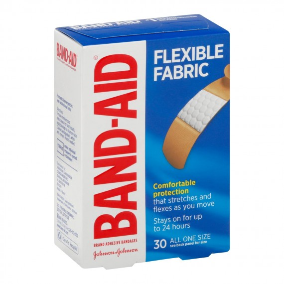 Johnson & Johnson - Bandage Flex Fabric 1 Size - 1 Each 1-30 Ct