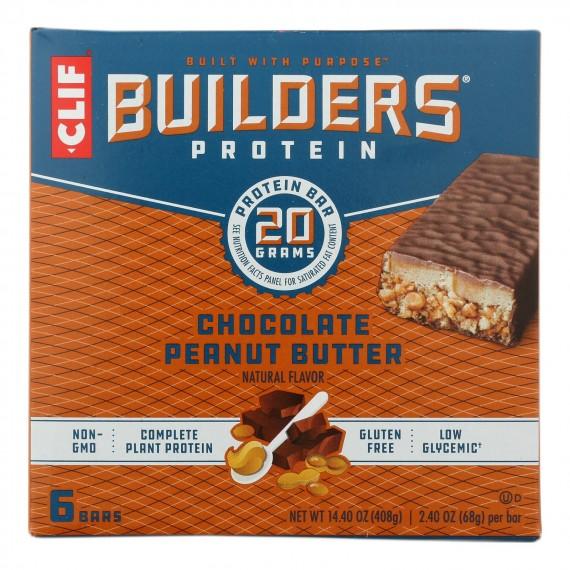 Clif Bar Builder's Protein - Case Of 6 - 6/2.4 Oz