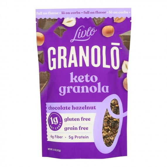 Livlo - Granola Keto Chocolate Hazelnut - 1 Each 1-11 Oz