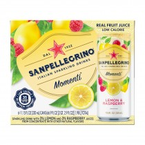 San Pellegrino - Sparkling Bev Lemon Raspberry - Case Of 4 - 6/11.15z