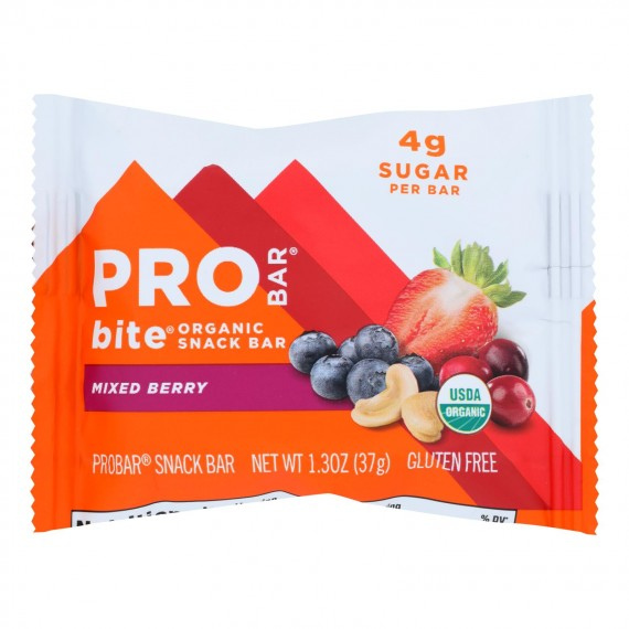 Probar - Bite Bar Mixed Berry - Case Of 12 - 1.3 Oz