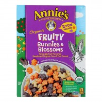 Annie's Homegrown - Cereal Fruity Bunnies And Blossoms - Case Of 10 - 10 Oz
