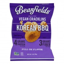 Beanfields - Vegan Cracklins Korean Bbq - Case Of 24 - 1 Oz