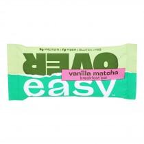 Over Easy - Breakfast Bar Vanilla Matcha - Case Of 12 - 1.8 Oz
