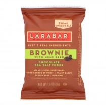 Larabar - Brownie With Hemp Seed Chocolate Sea Salt - Case Of 12 - 1.6 Oz